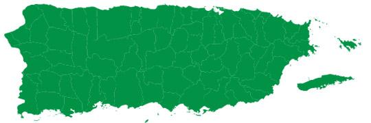 mapa pr
